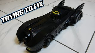 Trying to FIX The BATMOBILE R/C Car