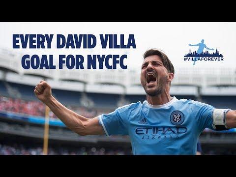 #VillaForever | Every David Villa Goal for NYCFC