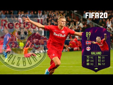 Erling Haland Fifa 20 Face Tutorial Salzburg Youtube