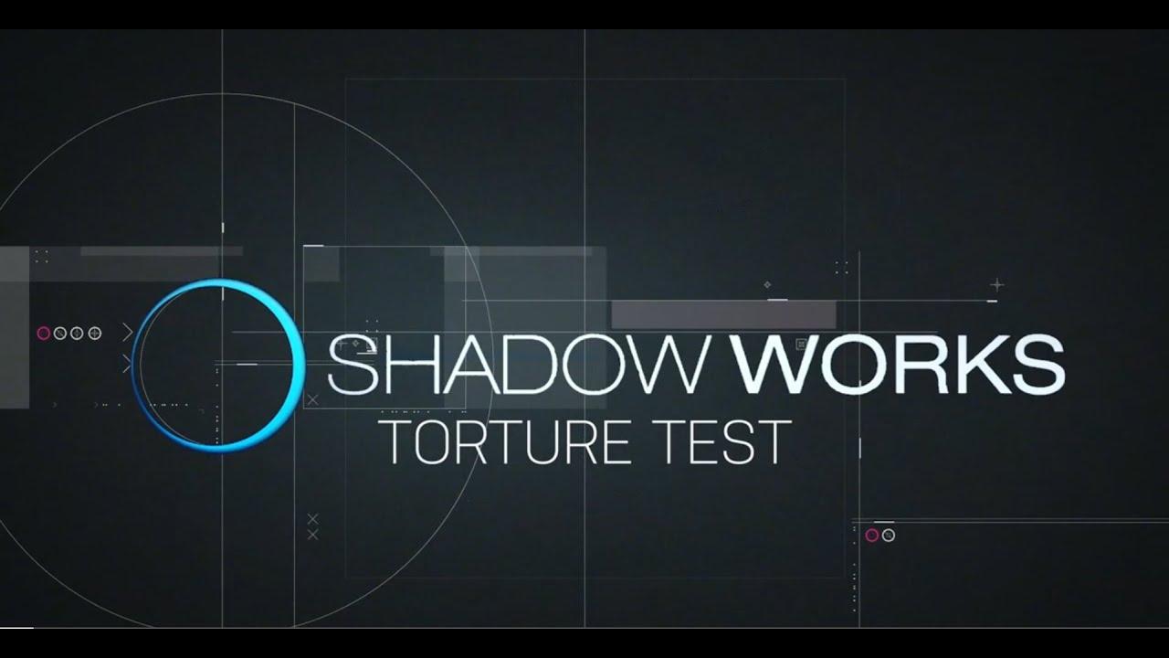 Shadow Works Glove Torture Test