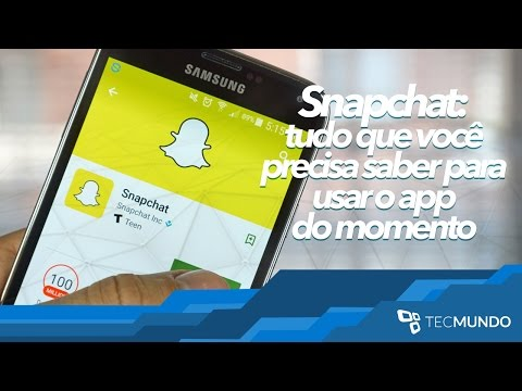 Snapchat: Tudo Que Você Precisa Saber Para Usar O App Do Momento - TecMundo