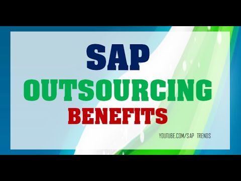 SAP OUTSOURCING TO OFFSHORE   BENEFITS