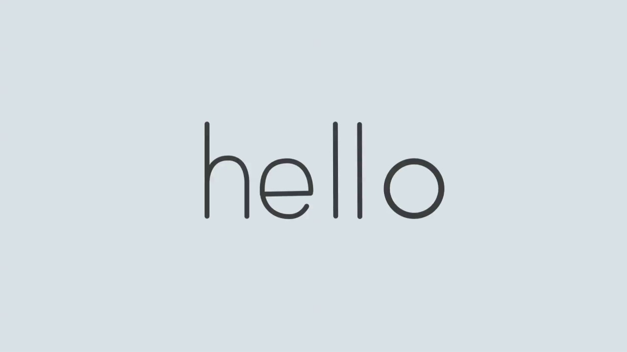 helllo - YouTube