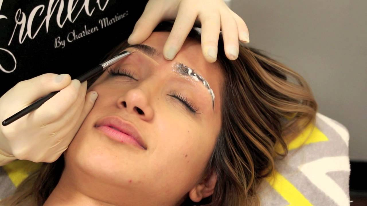 Semi Permanent Eyebrows Look Naturalusing Microblading Youtube