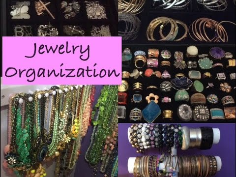 Jewelry Organization & Storage / Jewelry Collection: How To Organize Your Jewelry