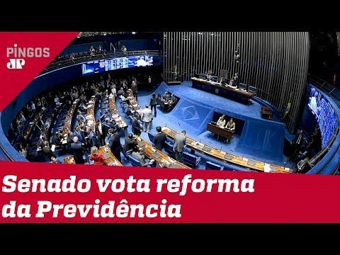 Plenário do Senado vota reforma da Previdência
