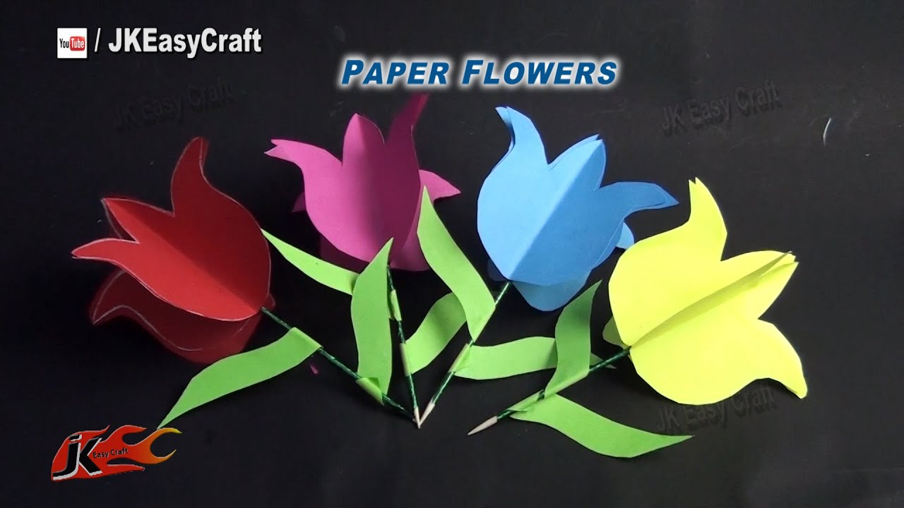 Easy paper lotus flower tutorial diy how to make jk easy craft easy paper lotus flower tutorial diy how to make jk easy craft 122 dhlflorist Image collections