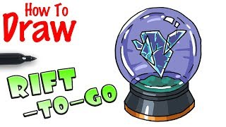How to Draw the Rift-To-Go | Fortnite