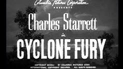 The Durango Kid - Cyclone Fury - Charles Starrett, Clayton Moore, Smiley Burnette