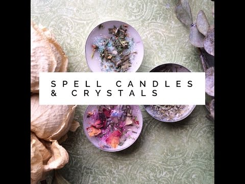 Spell Candles & Crystals: How to Use