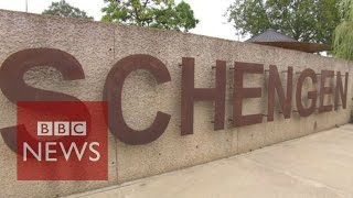 How the Schengen area was created - BBC News