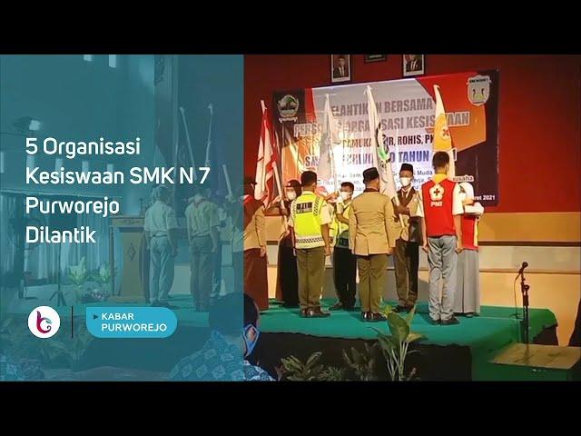 5 Organisasi Kesiswaan SMK N 7 Purworejo Dilantik