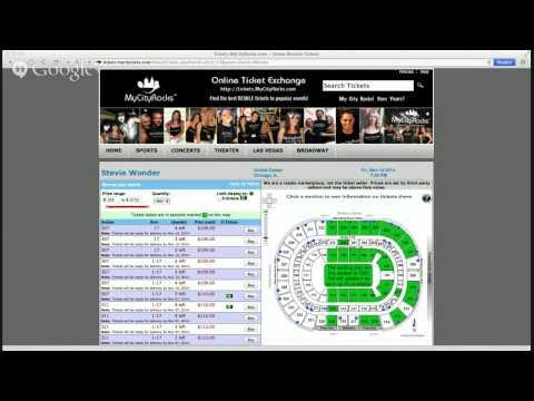 Stevie Wonder Chicago IL Tickets United Center Concert