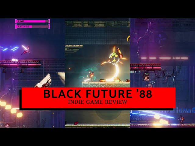 Indie Game Review: You only have 18mins to live! Black Future '88