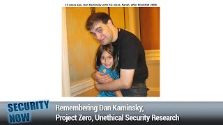 The Mystery of AS8003 - Remembering Dan Kaminsky, Project Zero, Unethical Security Research