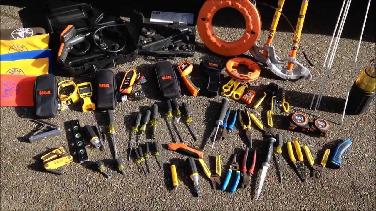 Electricians Klein Tools Collection Review Youtube