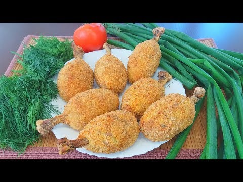 Вкуснятина  из Куриных Голеней в Хрустящей Панировке