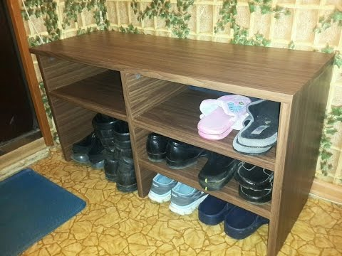 видео: Полка для обуви своими руками из старого шкафа