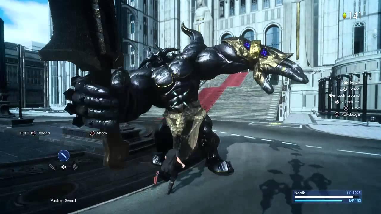 Final Fantasy Xv Iron Giant