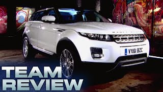 Range Rover Evoque ED4 2WD Team Review Fifth Gear