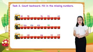 Math For Kids - Lesson 19. Counting Forward and Backward for kids   1st Grade