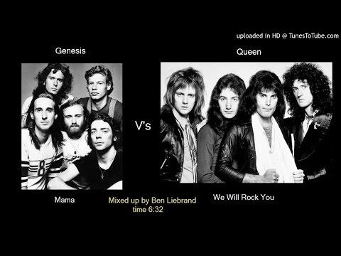 Genesis V&39;s Queen - Mama We Will Rock You Ben Liebrand minimix