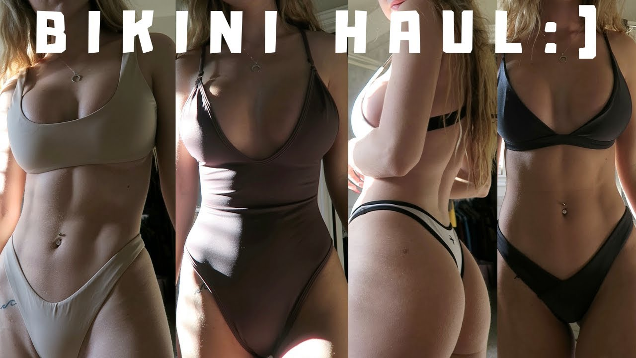36047d1210 BRANDED SWIMSUIT HAUL - YouTube