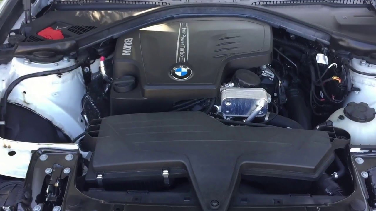 2012 2017 2018 Bmw 3 Series F30 How To Open The Hood