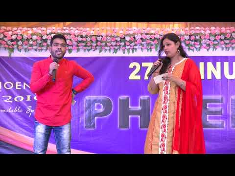 Sambalpuri Comedy Anchoring By Sujit And Rimil At Pkace