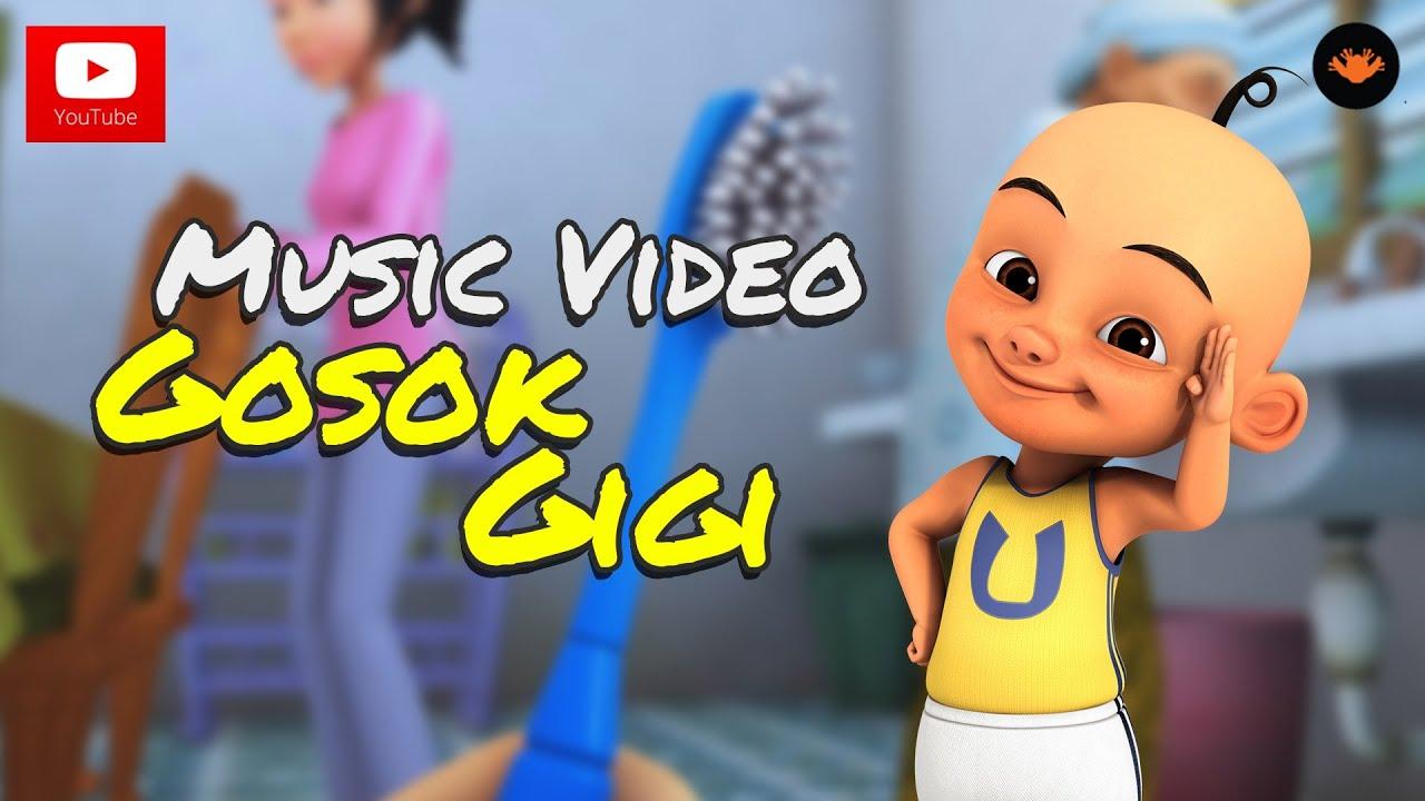 Upin Ipin Gosok Gigi Music Video Youtube