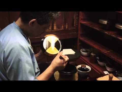 Japan Craft - Making Japanese Lacquer - Urushi Craftsman