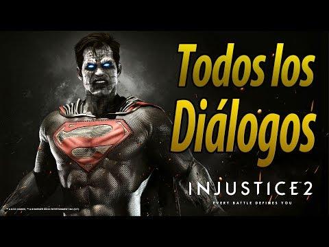 Injustice 2 | Español Latino | Todos los Diálogos | Bizarro | PS4 |