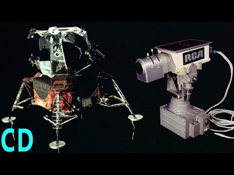 The TV cameras Apollo left on the Moon