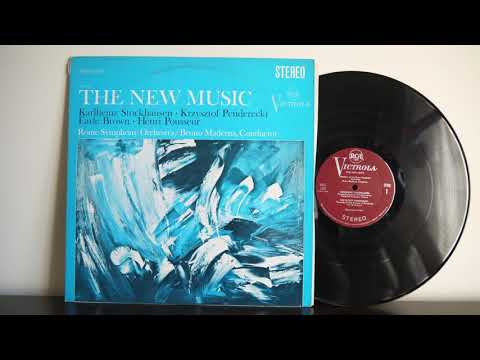 Karlheinz Stockhausen, Krzysztof Penderecki, Earle Brown, Henri Pousseur (1967) - The New Music