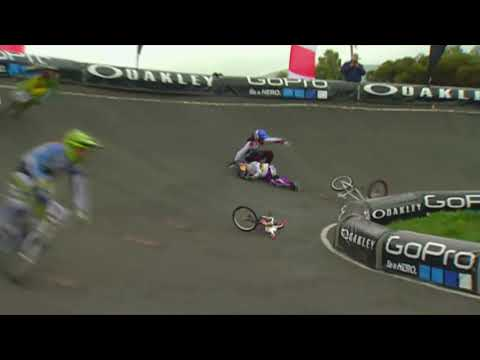 BMX Racing Crashes | Sam Willoughby, Connor Fields, Maris Stromberg, David Herman | Classic Clip