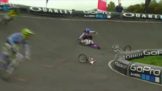 BMX Racing Crashes