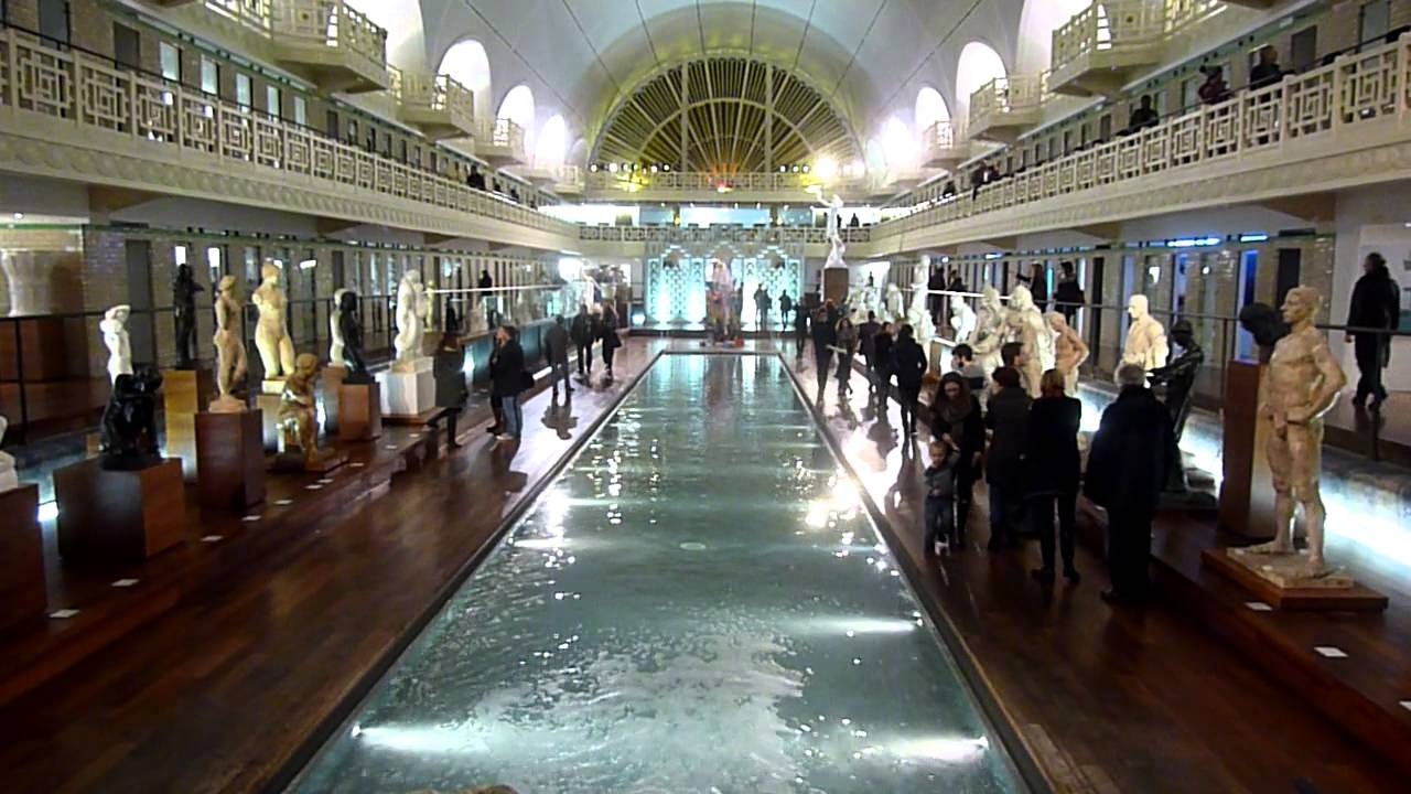 Mus e la piscine tourcoing youtube for Musee la piscine
