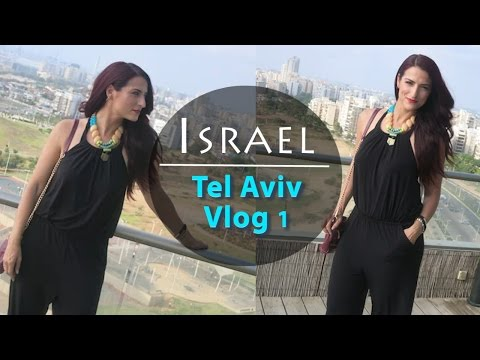 From Vegas to Tel Aviv & Fashion Lookbook|Israel Vlog 1|#ShanaEmily