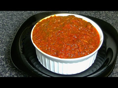 ITALIAN PIZZA SAUCE (HOMEMADE) *COOK WITH FAIZA*