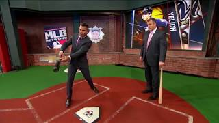Yelich and his swing path