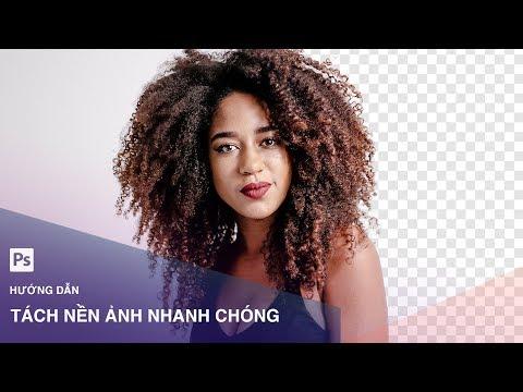 Hướng dẫn tách nền ảnh nhanh chóng trong Photoshop | Designer Việt Nam
