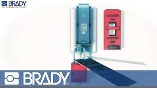 Brady Lockout Tagout Device Movie: Wall switch lockout