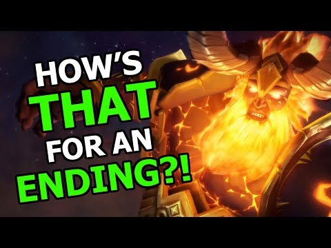 OK Let's Talk About The Antorus Ending Cinematics! The End Of World Of Warcraft Legion