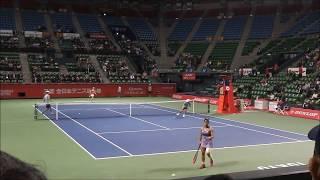 2017年 全日本テニス選手権 女子シングルス決勝 今西 美晴 vs. 秋田 史帆   1Set