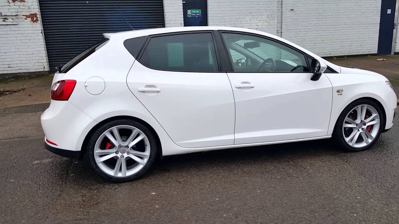 2012 seat ibiza cr sportrider 1 6 tdi 30 road tax youtube. Black Bedroom Furniture Sets. Home Design Ideas
