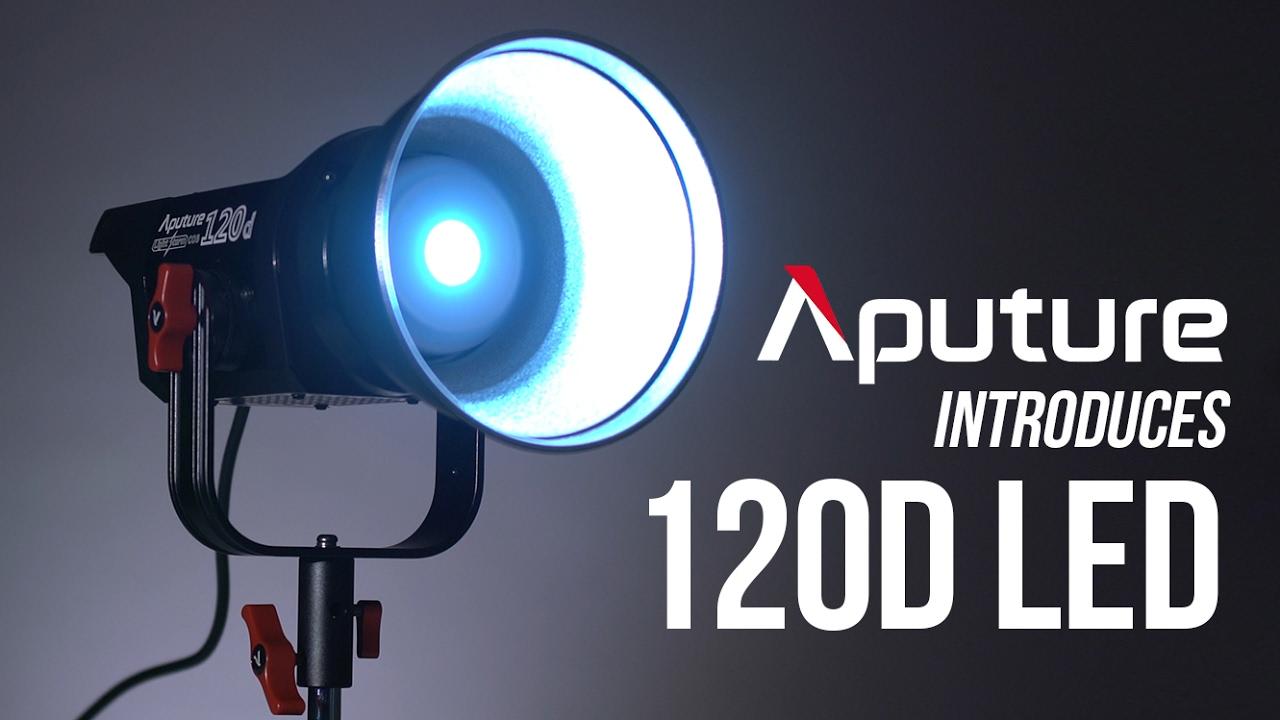 Aputure Light Storm COB 120d Kit 6000K ab 699,99 €   Preisvergleich