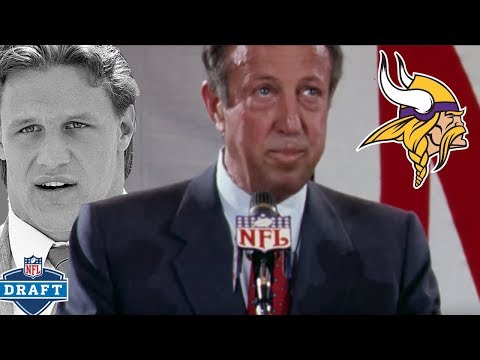 Fralic Frazzles Vikings Into Skipping Their Pick | NFL Draft Stories