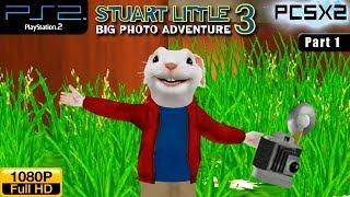 Stuart Little 3: Big Photo Adventure - PS2 Walkthrough - part 1 (Garden)