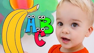 Chris learn ABC, Animals and Fruits