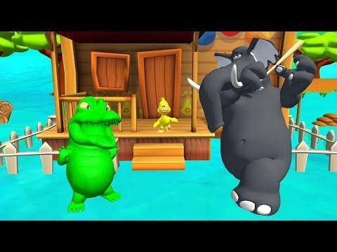 Ah les crocodiles -  enfants comptines et chansons pour les petits -  ah les crocodiles